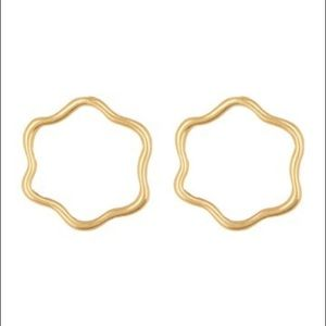 NWOT Madewell gold Earrings